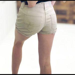 Levi's Denizen Tan Denim Shorts
